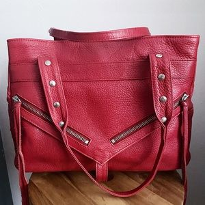 Botkier Trigger Clyde pebble leather satchel